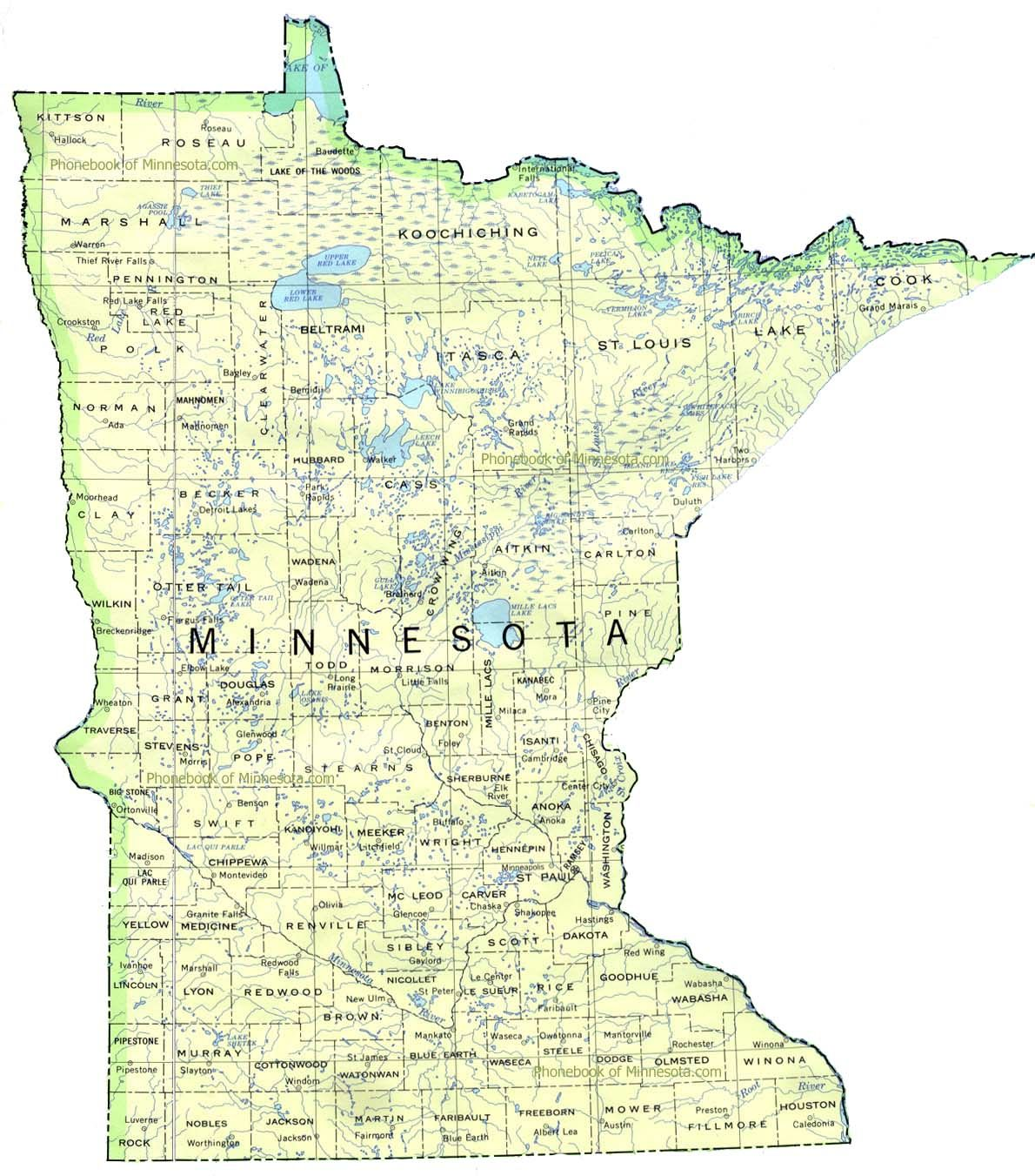 minnesota map Google Search Republican states, Map
