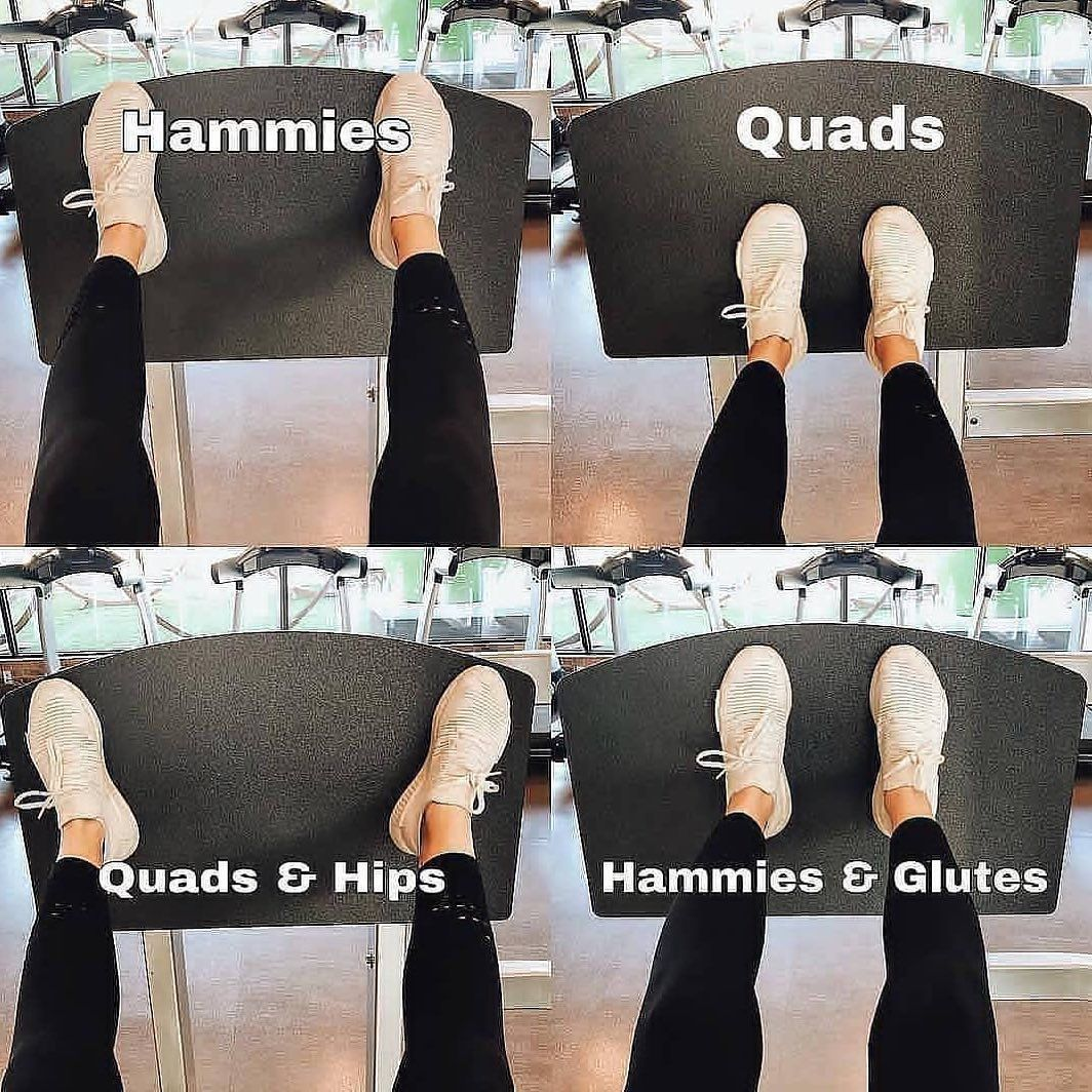 Foot placement for great leg goals on the leg press - #on #leg press #leg ... -  Foot placement for...