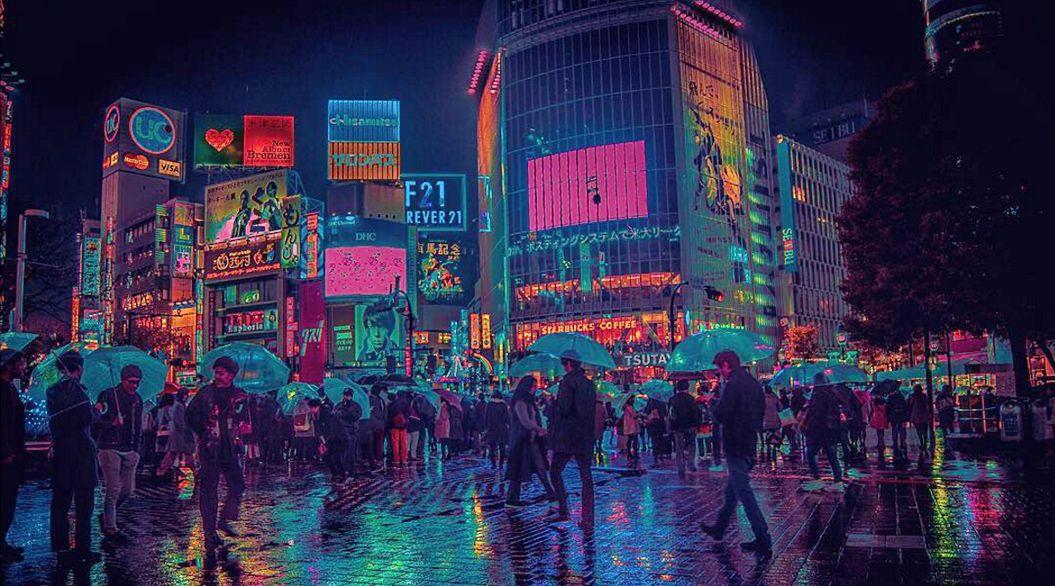 ようこそネオン街へ外国人が撮影したサイバーパンクな東京路地裏11