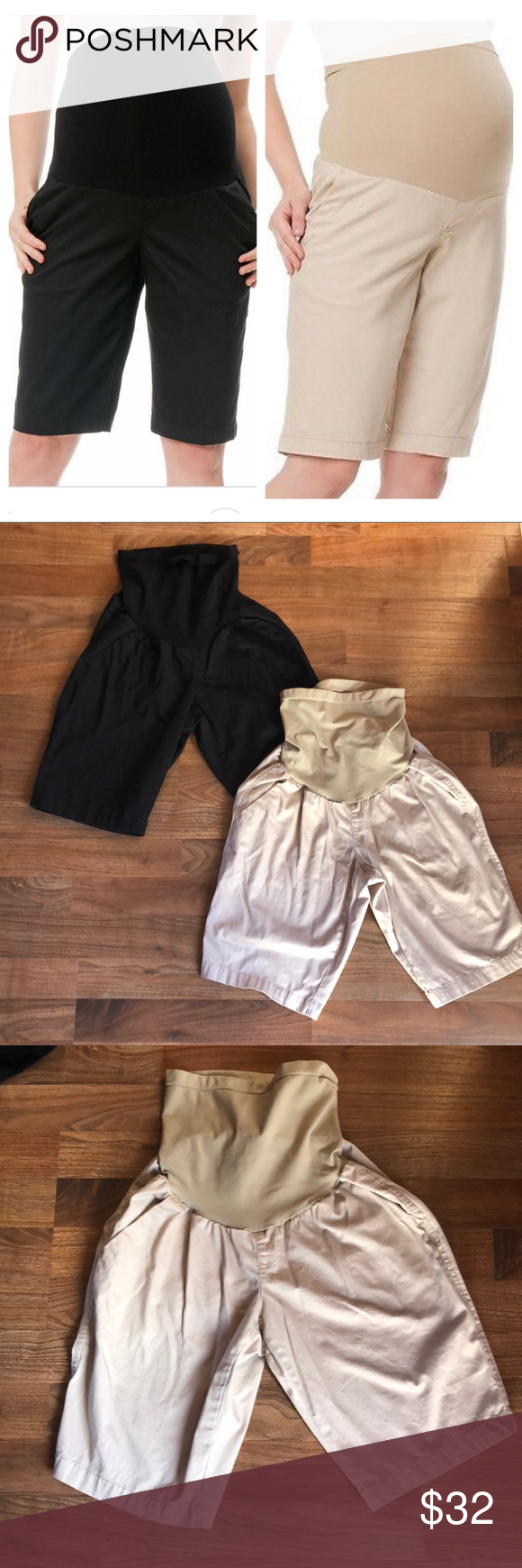 2d348c0fb644d Oh Baby Motherhood Secret Fit Maternity Short M Includes both pairs. Both  in excellent condition, no flaws. Size medium. These are the secret fit  belly ...