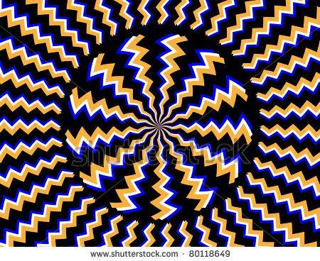 Hypnotizer Stock Vector 80118649 Shutterstock Cool Optical Illusions Optical Illusions Optical Illusion Images