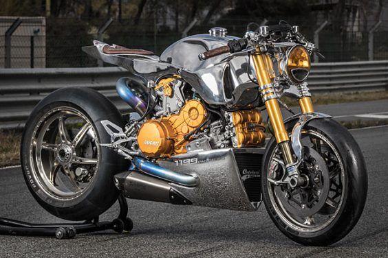 Ducati 1199 S Panigale Racer  Ortolani Customs