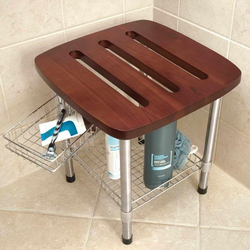 Shower Shaving Stool for Comfortable Bathroom Space - Shaving shower ...