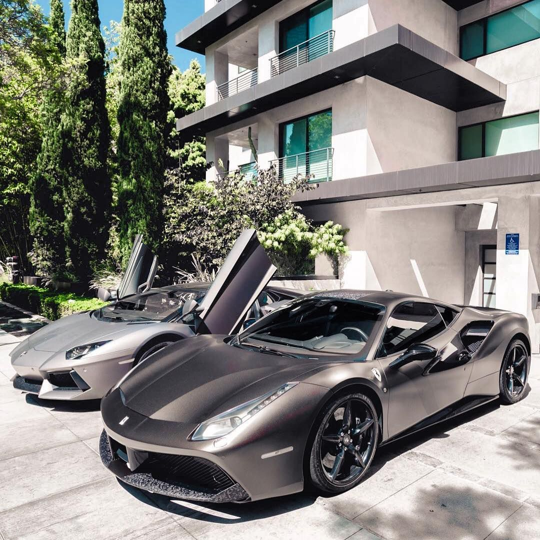 Luxury Cars Mansions On Instagram Are Red Discs Suitable
