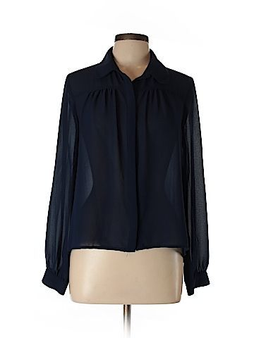 Forever 21 Long Sleeve Blouse Size L