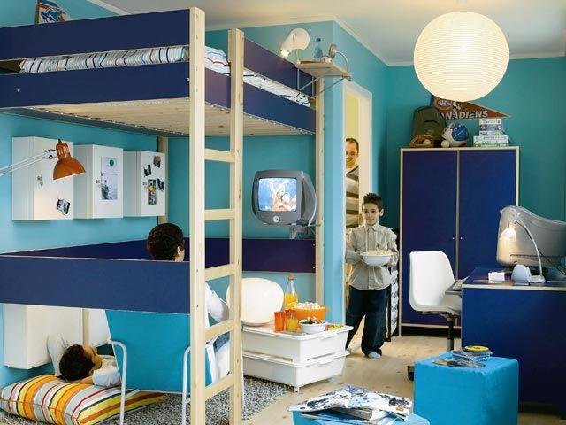 Resultado de imagen para iluminacion dormitorios juveniles for Habitaciones juveniles para poco espacio