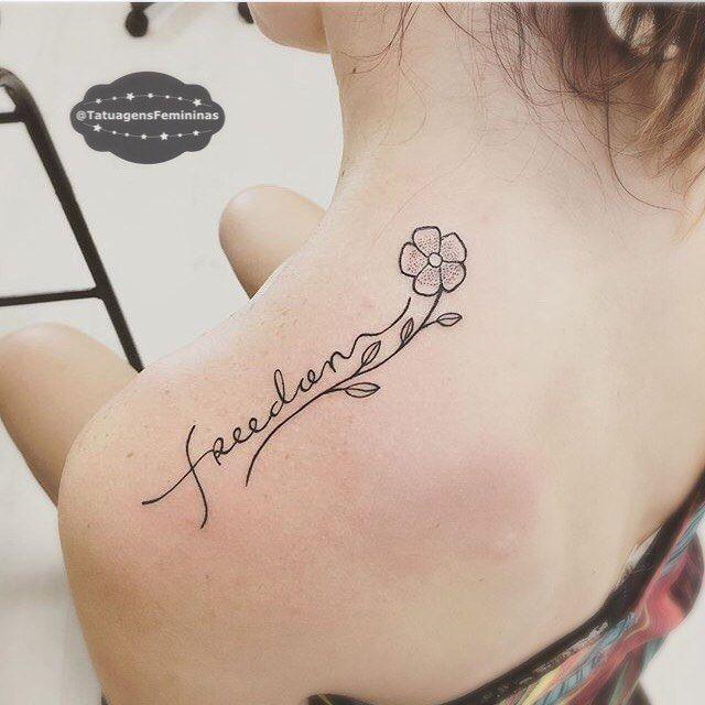Liberdade feita pelo tatuador rodolphotatuador for Freedom tribal tattoos