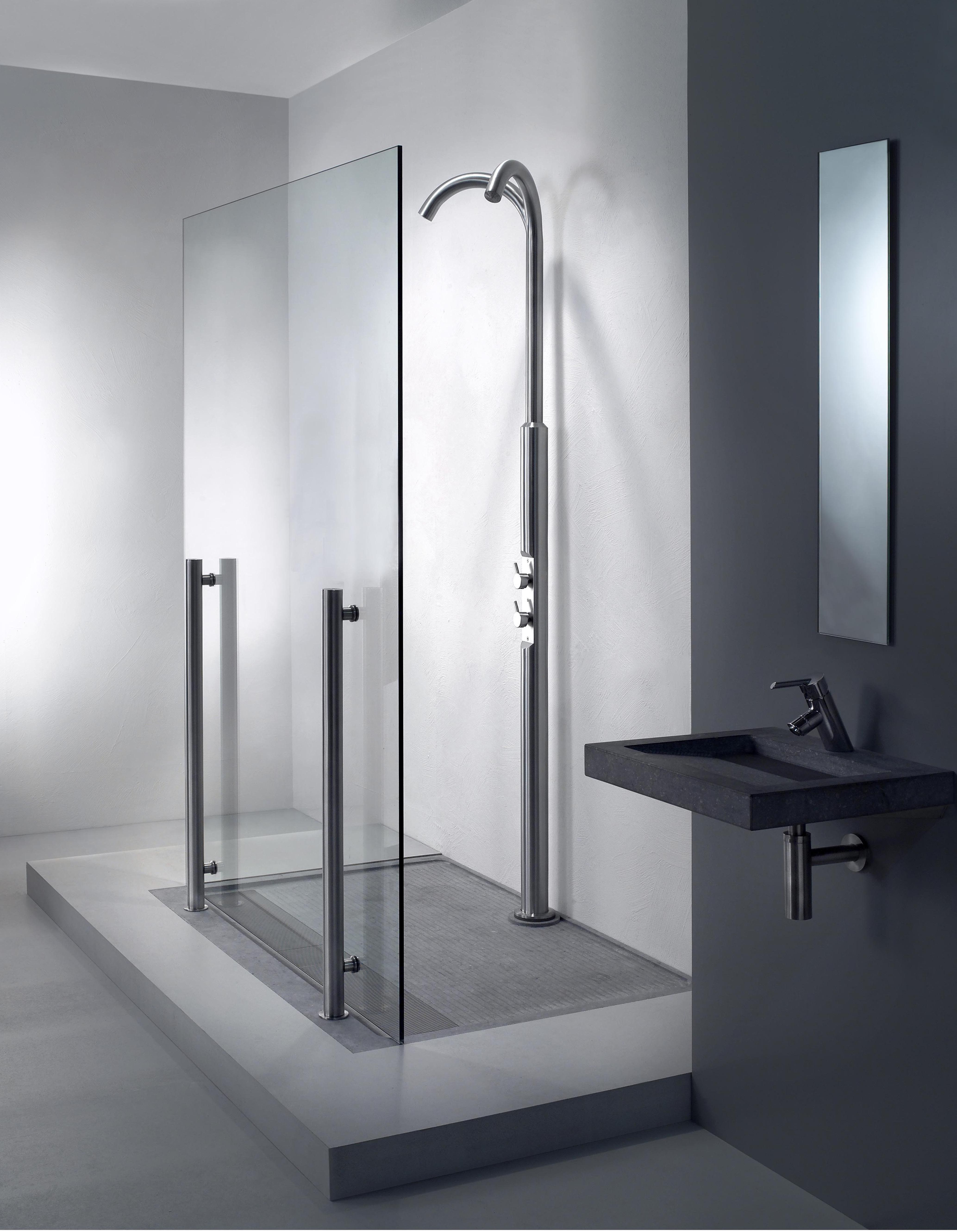 Freestanding shower enclosure Freedom-50 including Freedom-50 shower ...