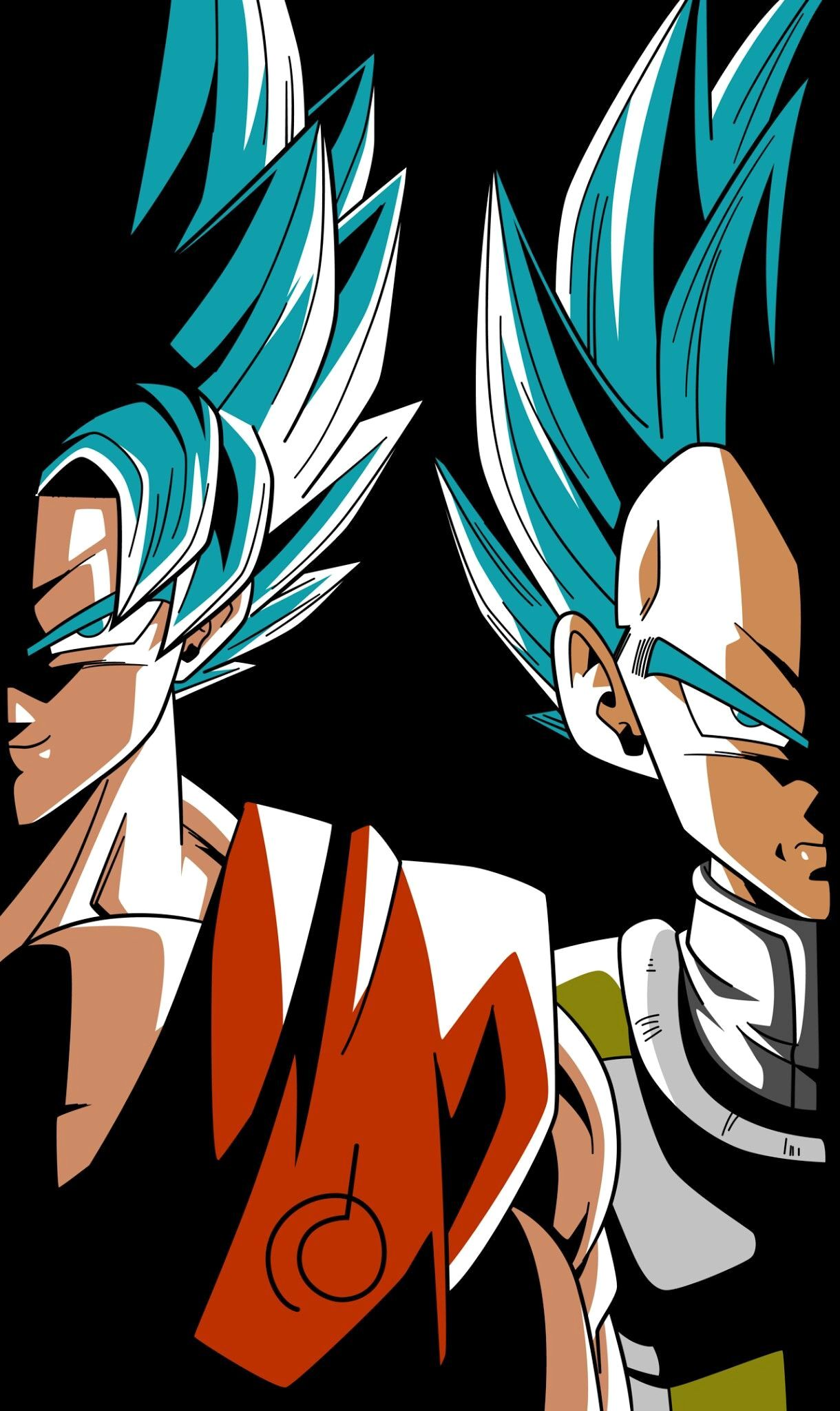 Awesome Goku And Ve A From The Dragon Ball Super Anime