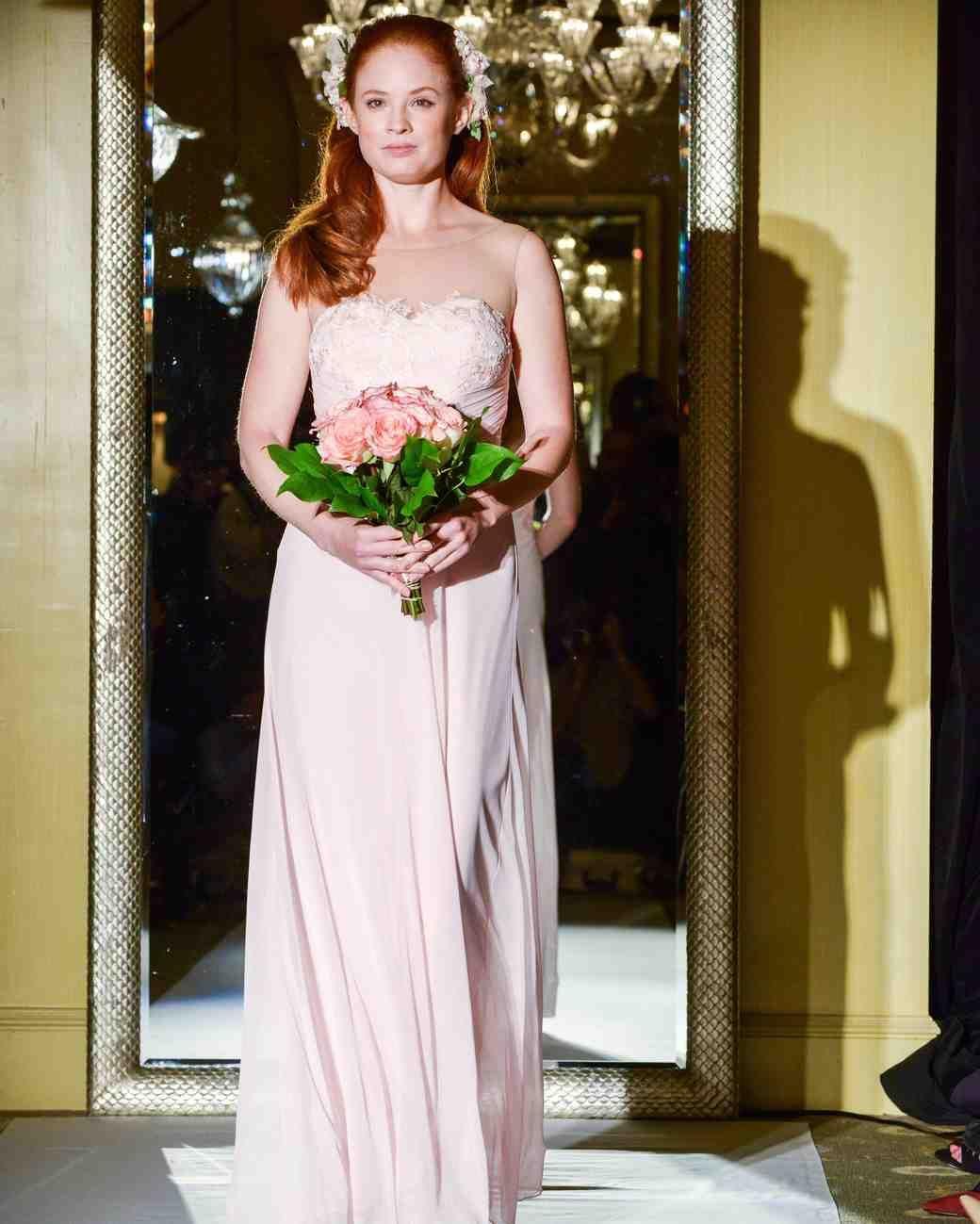 Oleg Cassini Fall 2017 Wedding Dress Collection   Martha Stewart Weddings – Strapless A-line wedding dress
