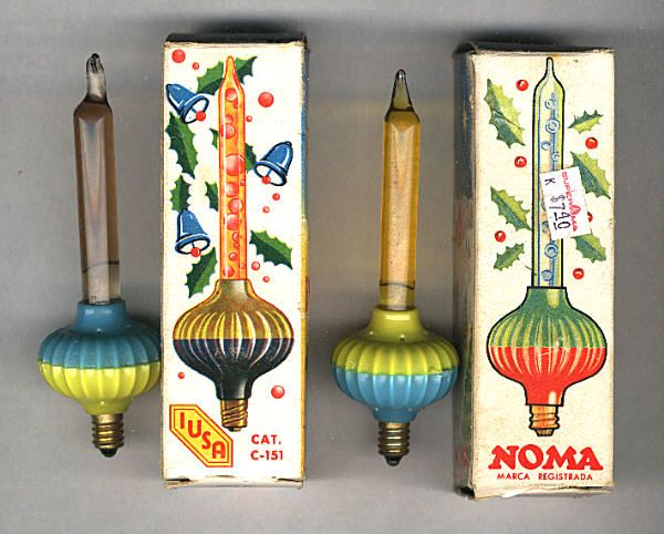 NOMA Bubble Lights Were Produced In The Early 1960s In