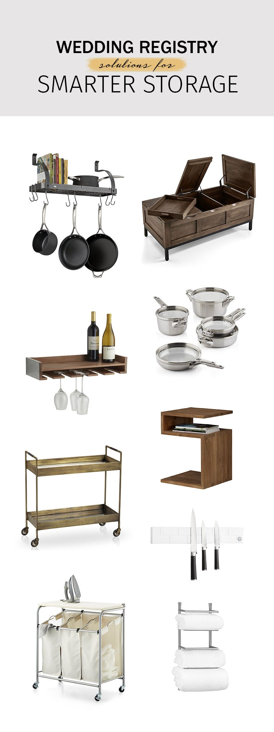 Stylish Picks with Crate and Barrel The Wedding Registry