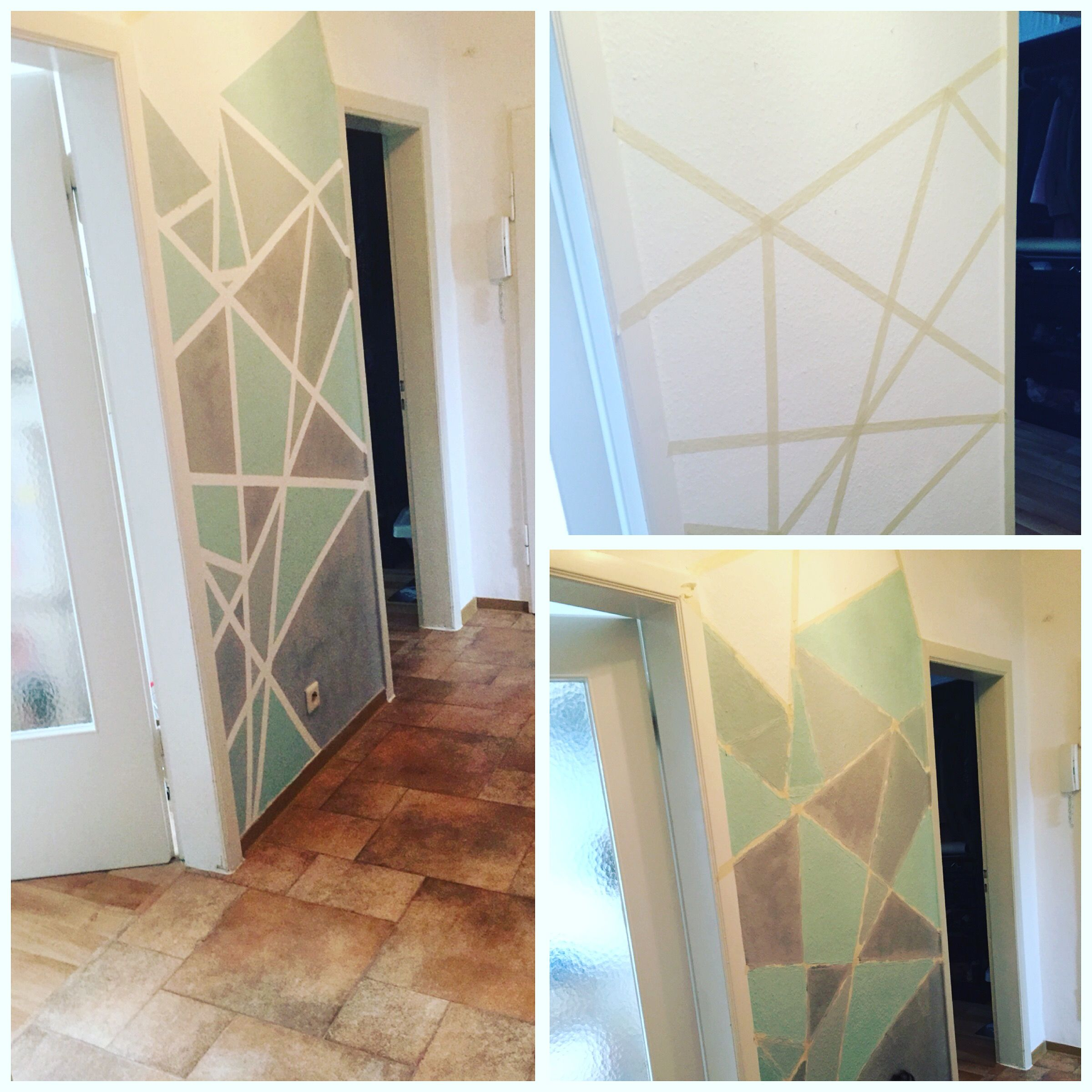 Wandgestatung Materialien Klebeband Vom Baumarkt Wandfarben