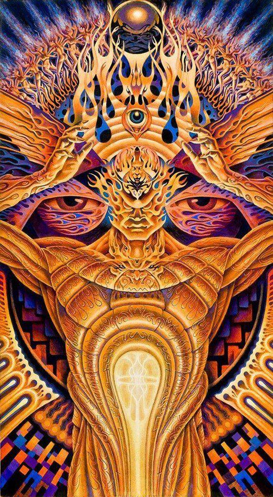 Poster Alex Grey Transfigurations