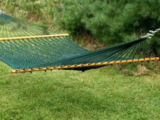 Kingcord: Deluxe Rope Hammock - XL Forest Green