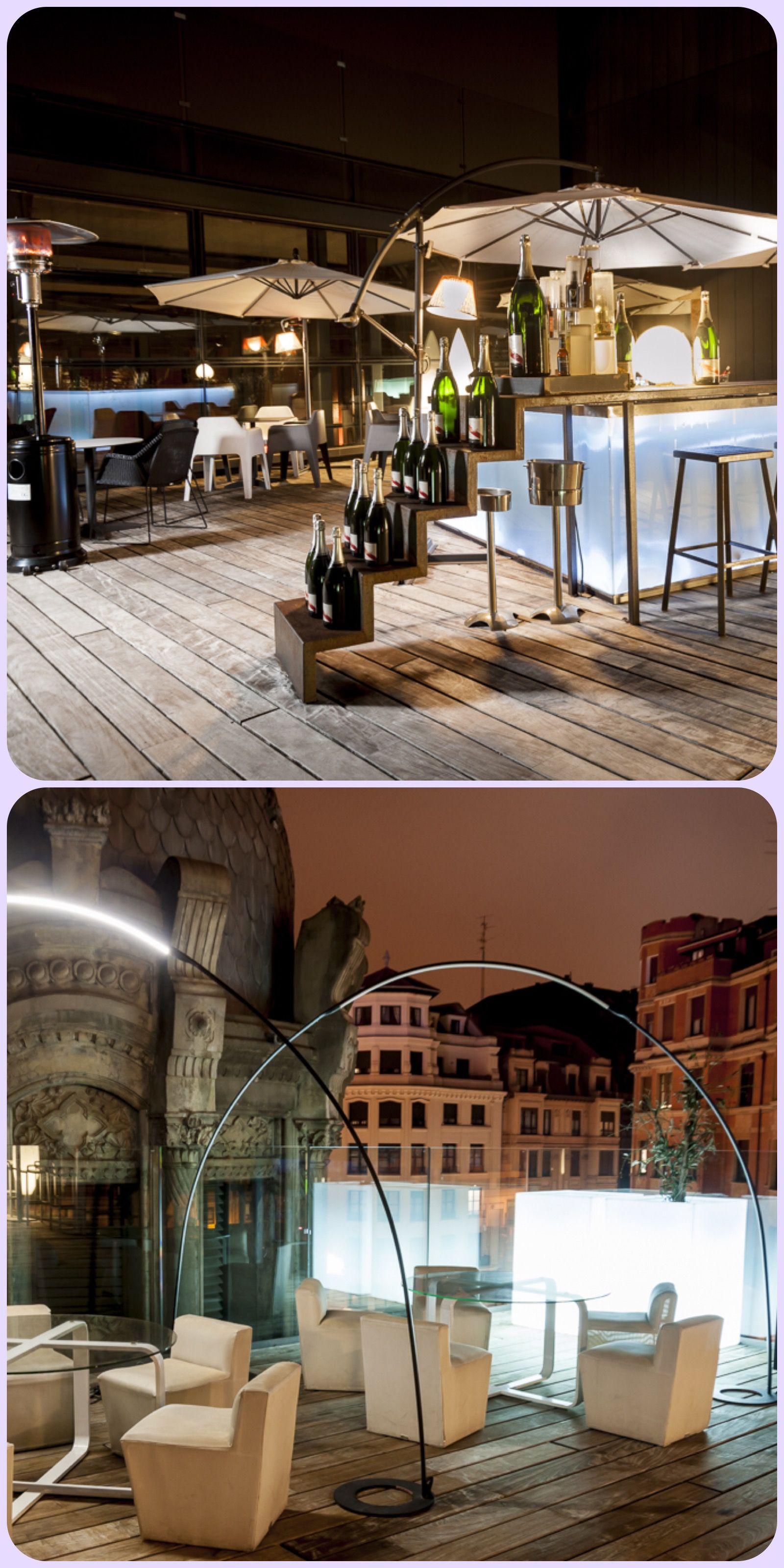 La Terraza Del Yandiola Bilbao Terrazas Bilbao Y Viajes