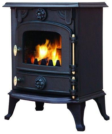 Mazona Rocky 6 Kw Smoke Exempt Multi Fuel Wood Burning Stove