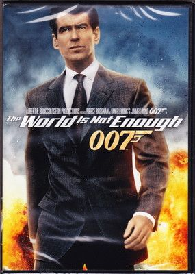 The World Is Not Enough Dvd James Bond Pierce Brosnan Ian Fleming