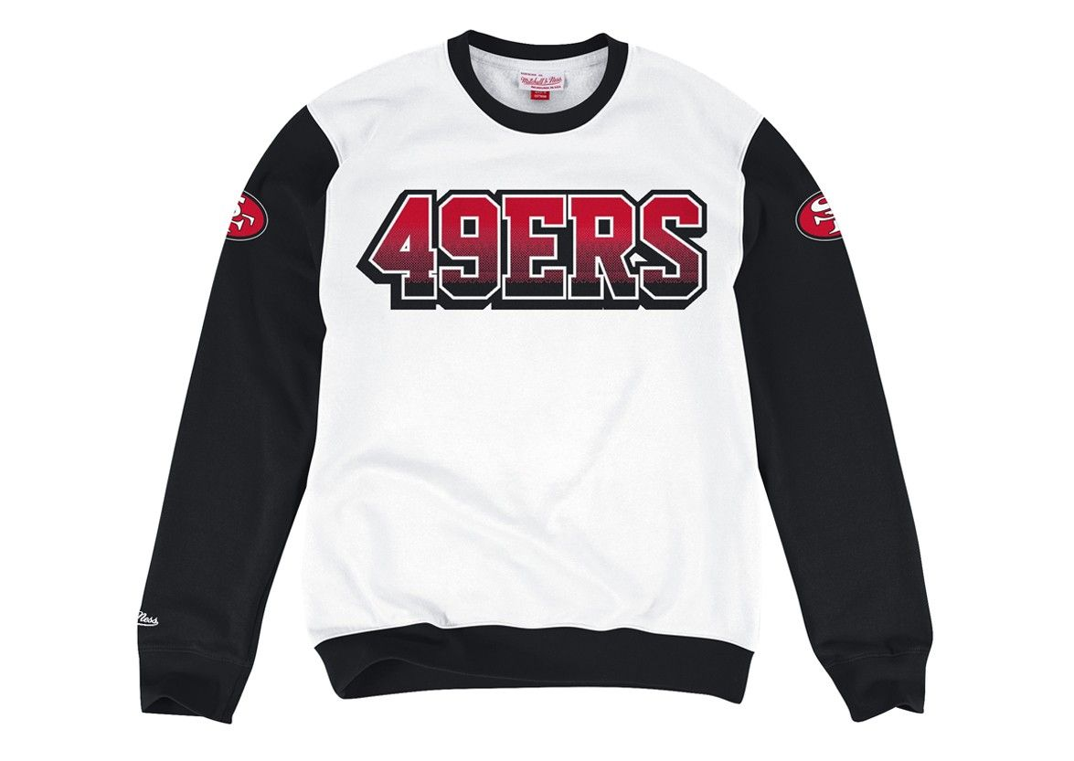 03188e7836297b Stop on a Dime Crew San Francisco 49ers - Mitchell   Ness