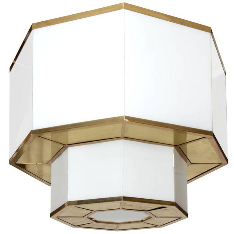 Flush mount light fixtures