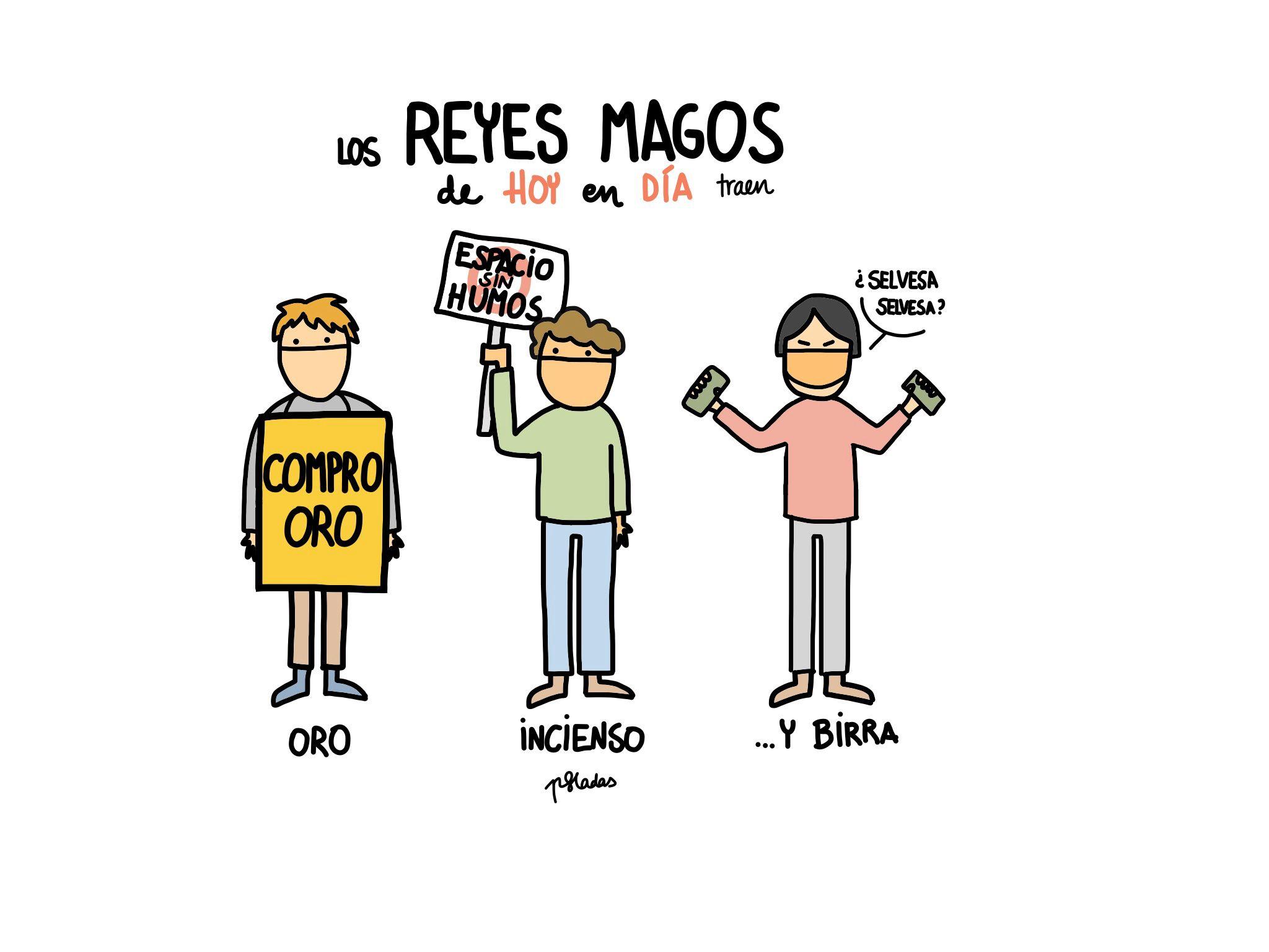 Reyes magos de hoy en día #Humor #Risas #jajaja #Fun #Jokes #Funny | Funny, Imágenes graciosas, Humor