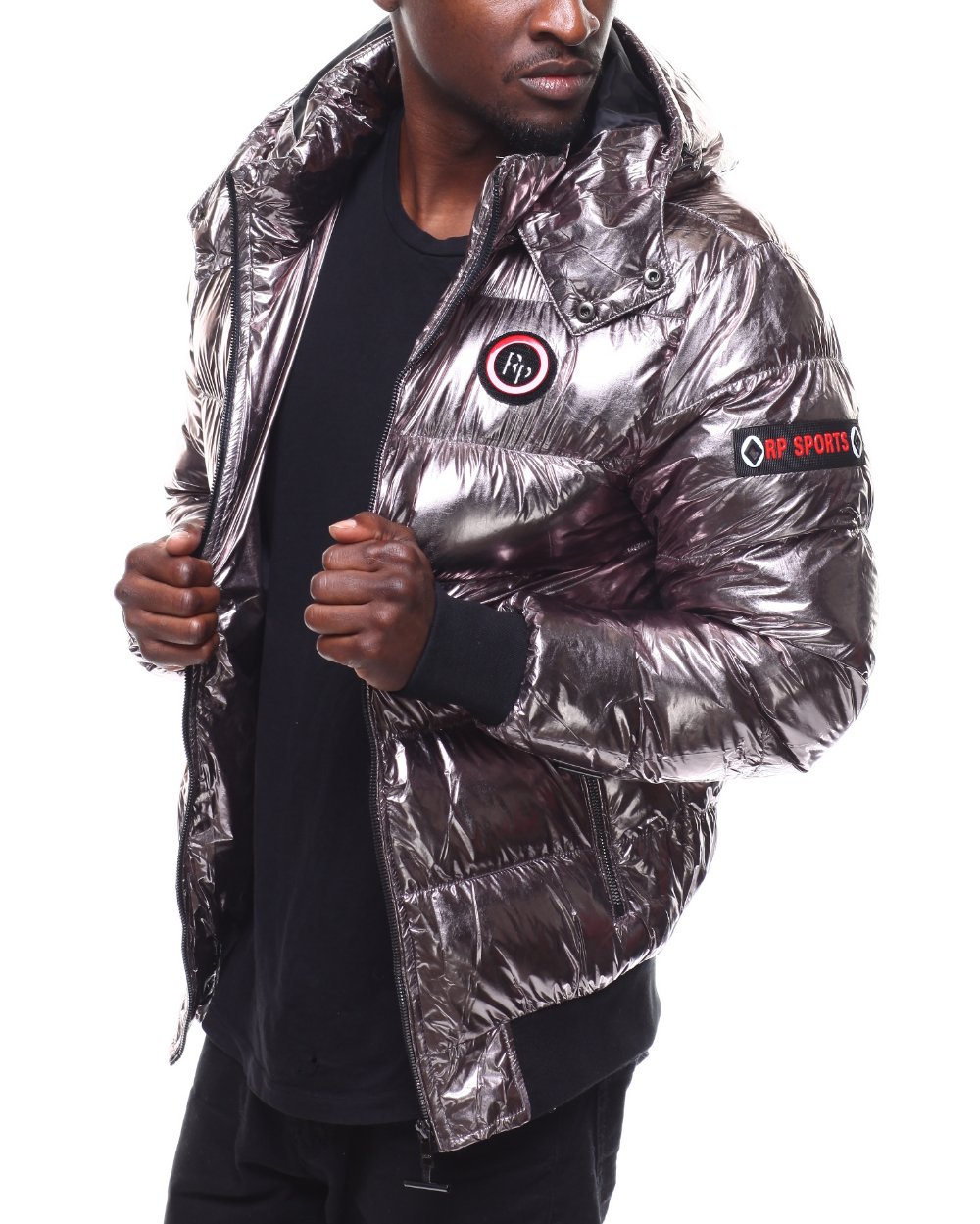 Buy Metallic Puffer Jacket By Robert Phillipe Men S Outerwear From Buyers Picks Find Buyers Picks Fashion More At Drjays Jackets Sweater Hoodie Kids Jacket [ 1249 x 1000 Pixel ]