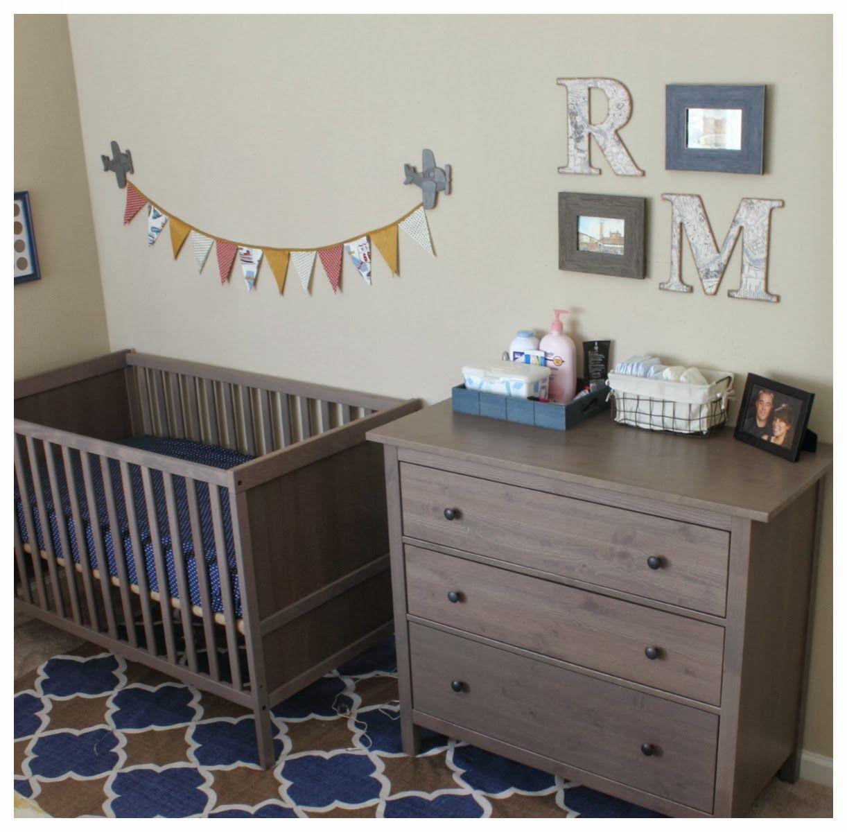 Little boy's nursery. Little man's cozy little nook