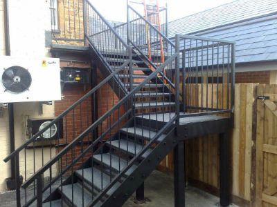 Wrought Iron Staircases Iron Spiral Staircases Steel Circular   Metal Staircase For Sale   Prefab   Outdoor   Contemporary   Tangga   Steel Structure