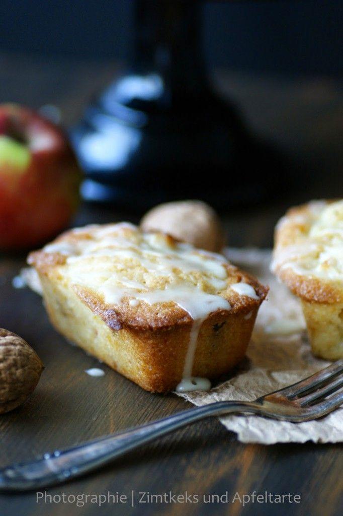 Köstliche Apfelküchlein mit Walnüssen und Orange - Zimtkeks und Apfeltarte