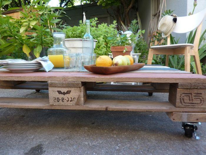 Bancale Tavolino ~ Tavolino pallet quando una pedana diventa tavolino idee