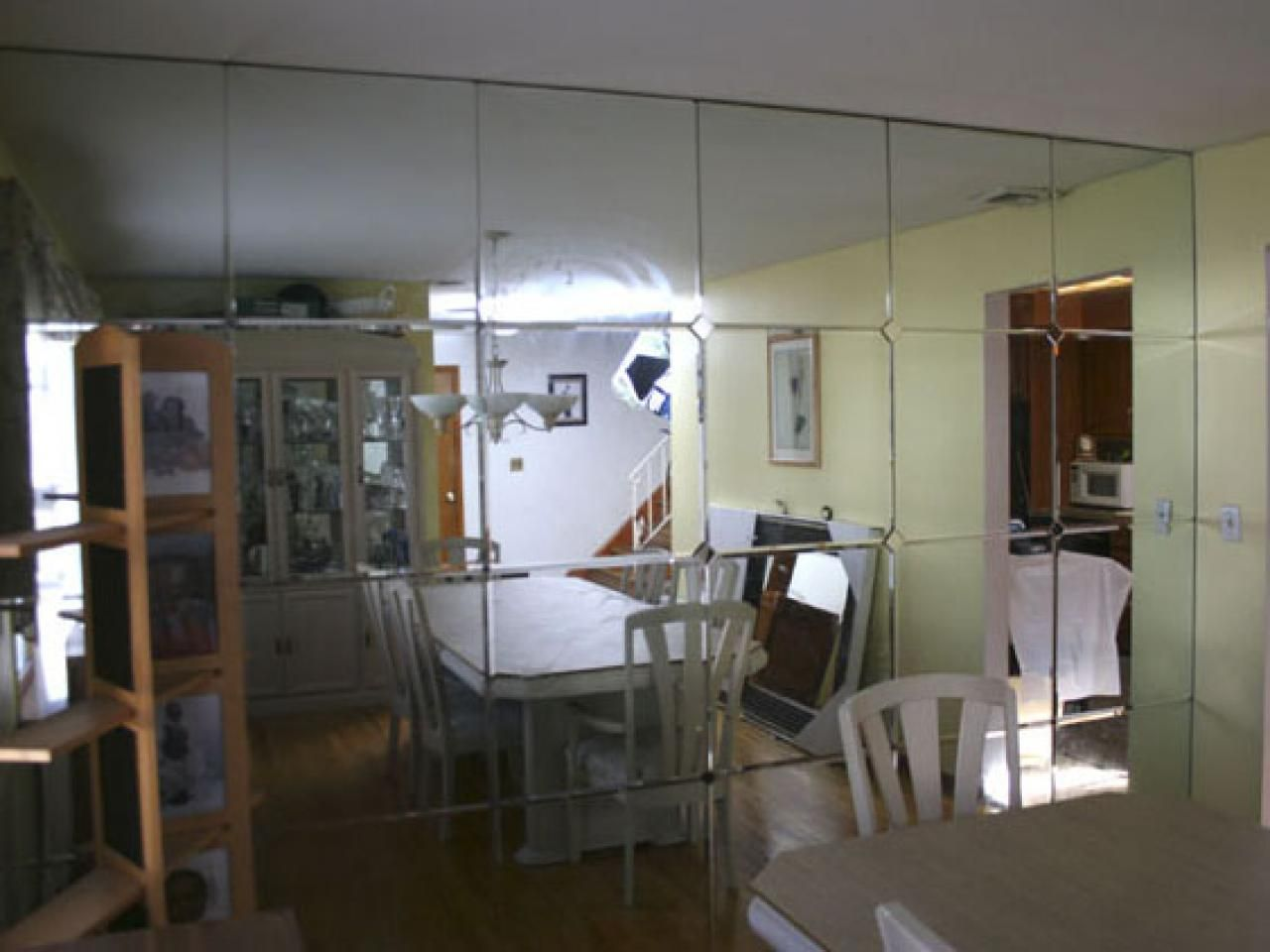 Are Mirrored Walls Back In Style Simple Wall Decor Wall Paneling Wall Panels