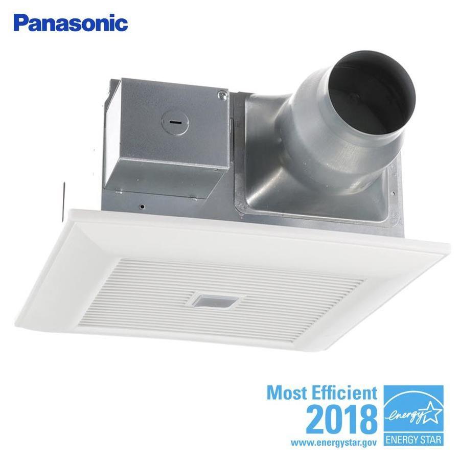 Panasonic Whisperfit 0 3 Sone 110 Cfm White Bathroom Fan Energy