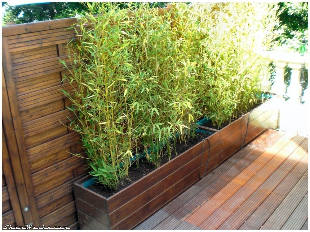 Shamwerks terrasse project terrasse project bacs - Bac a plante exterieur ...