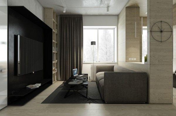 Dark neutral themed interiors ideas inspiration