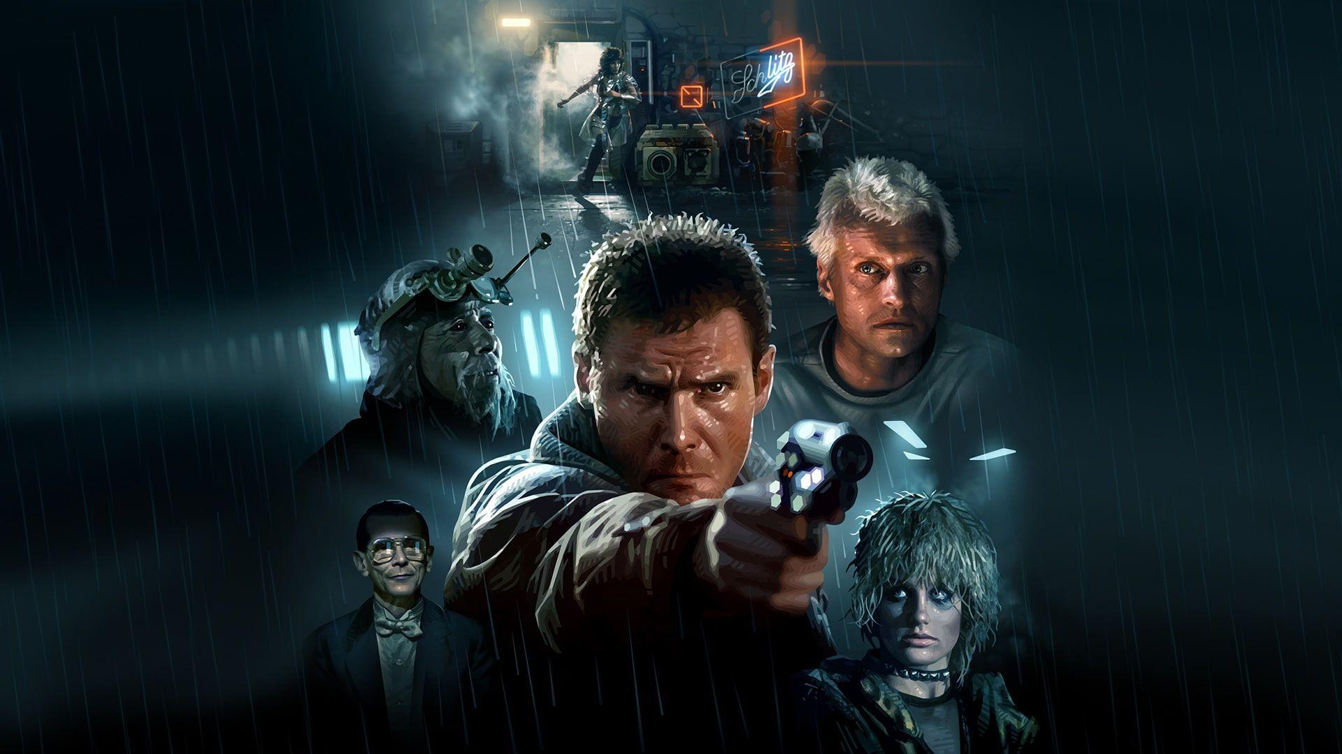 Harrison Ford Blade Runner Cyberpunk 1080p Wallpaper Hdwallpaper Desktop Harrison Ford Blade Runner Harrison Ford Blade Runner