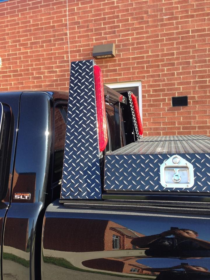 Toyota Tacoma Trd Sport >> Leopard Headache Rack (Cab Guard) with lights and matching ...