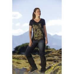 Journey Damen T-Shirt schwarz M Louis #falloutfitsformoms