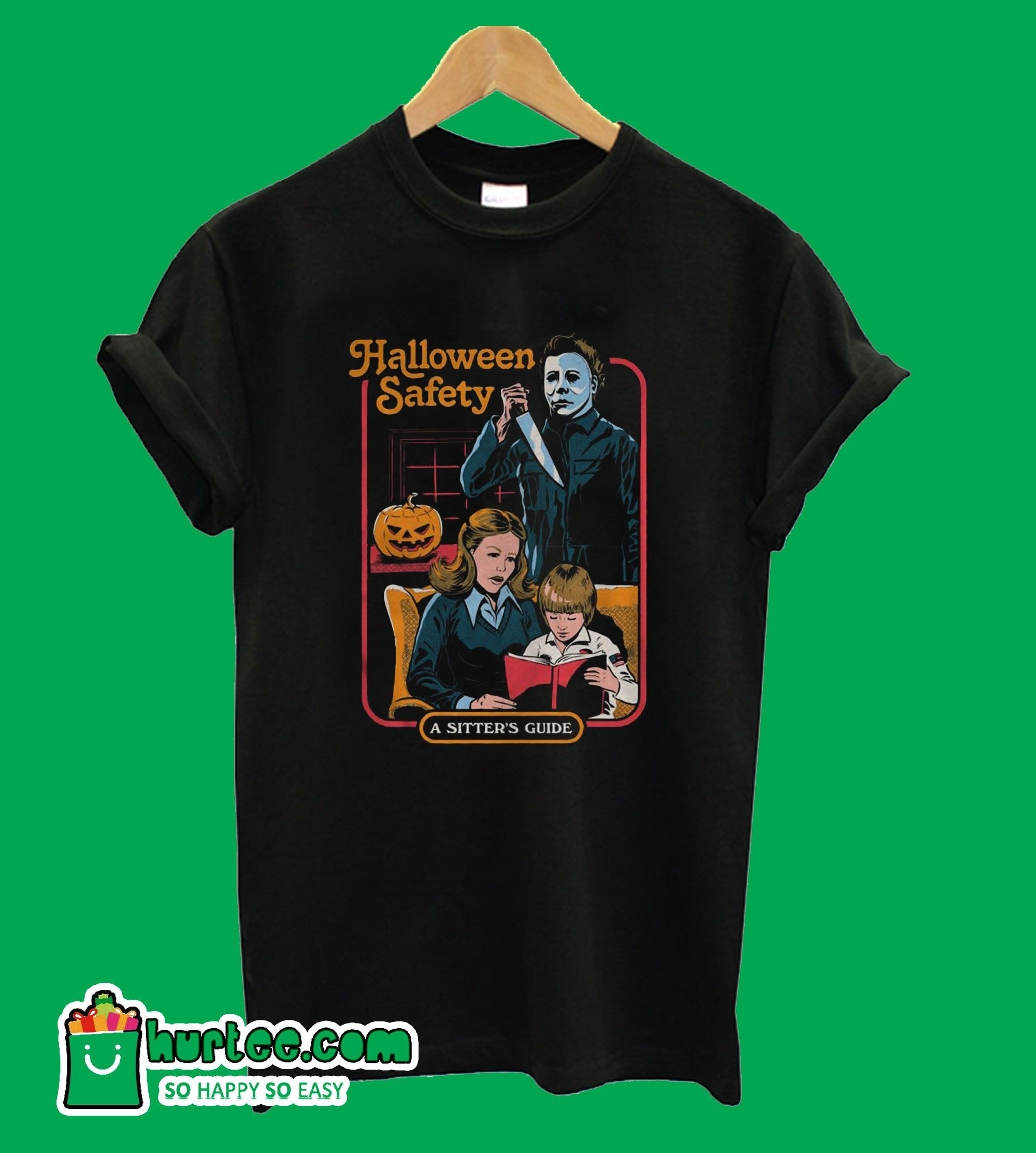 Halloween Safety A Sitter's Guide TShirt Halloween