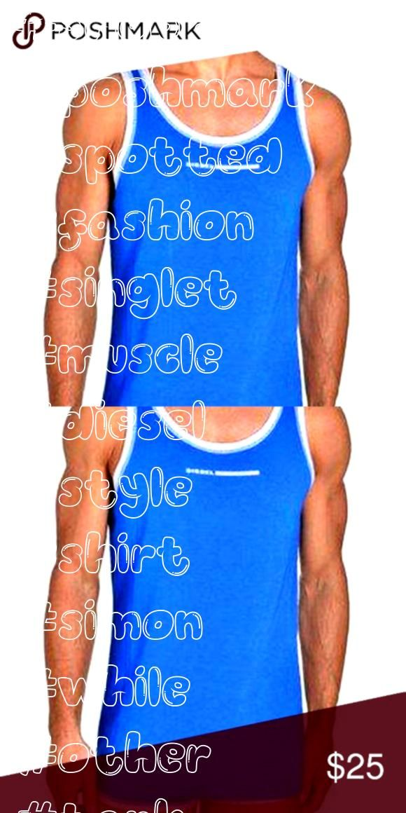 while shopping on Poshmark Diesel Tank Top Simon Singlet Muscle Shirt GymSpotted while shopping on Poshmark Diesel Tank Top Simon Singlet Muscle Shirt Gym Gold hair Comb...