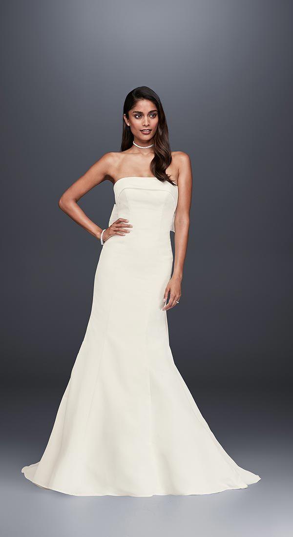 4 Wedding Dress Trends We're Fully Embracing with David's Bridal #weddingdresses #laceweddingdresses #pinkweddingdresses width=
