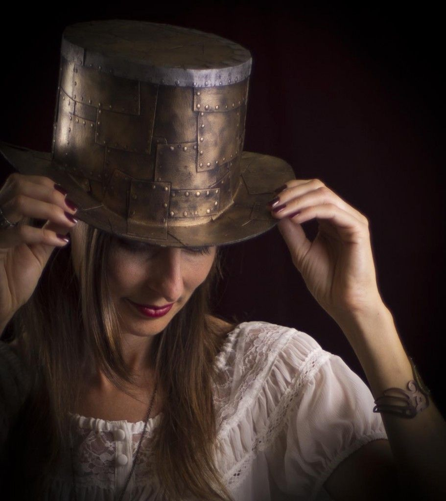 Steampunk Top Hat Tutorial - how to make your own ridiculously awesome top hat out of cardboard!