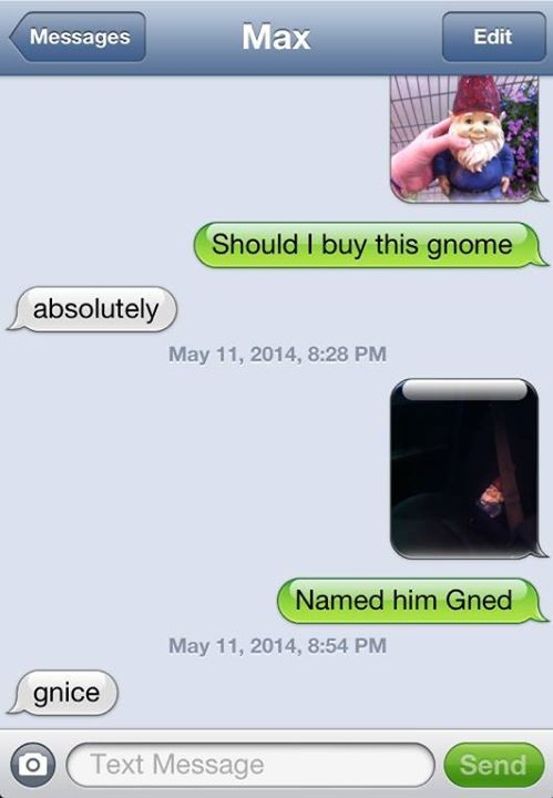 Reminds me of the arden gnome joke :)