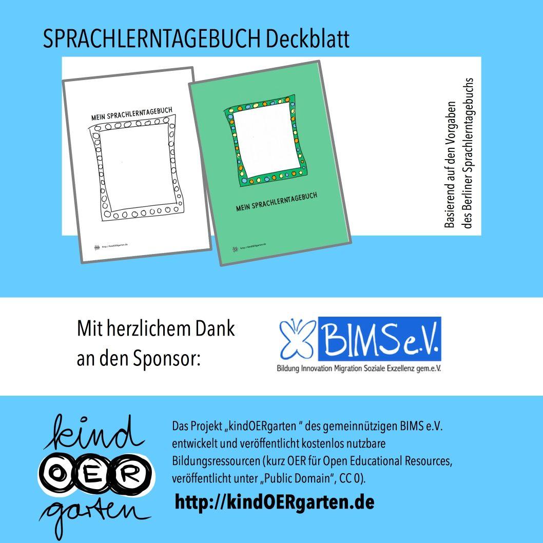 Sprachlerntagebuch Deckblatt