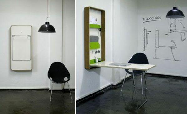 holztisch klappbar klapptisch wandmontage modern - Kleiner Kuchentisch Klappbar