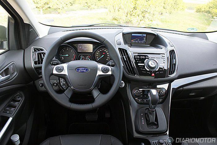 Ford kuga interior 2013 hardrock salong car automotive for Interior ford kuga