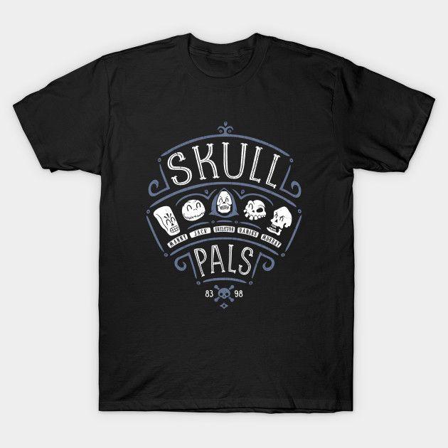 Skull Pals - Grim Fandango T-Shirt by Olipop - The