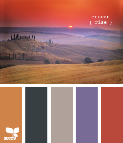 Tuscan Dawn... love these colors!