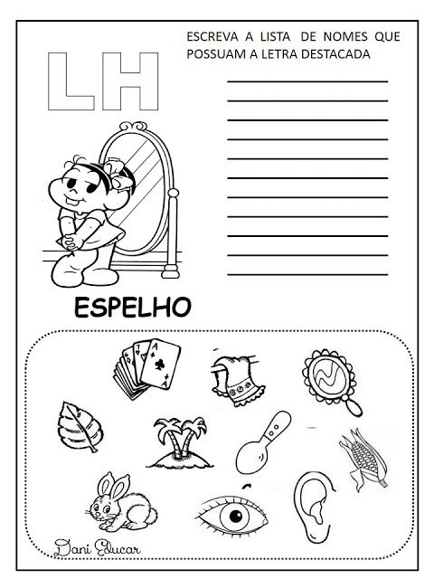 Atividades De Lingua Portuguesa Listas Silabas Complexas