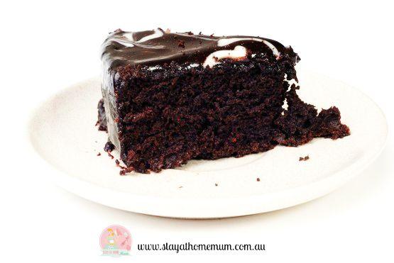 Mud cake chocolate