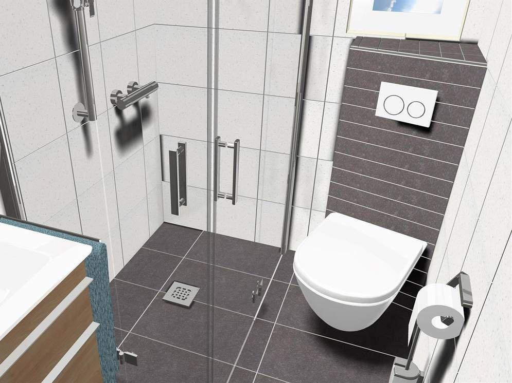 Das Kleine Duschbad 3qm Wc Mit Dusche Badezimmer Dusche Fliesen Duschbad